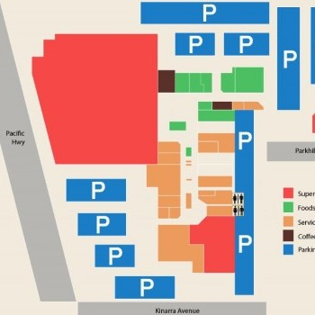 Plan of Wyoming Shopping Centre